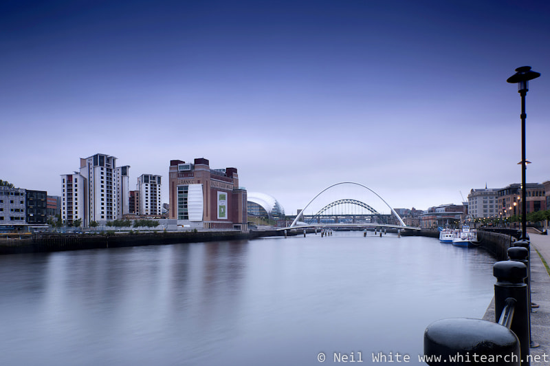 Photograph Newcastle Gateshead Quays by Neil White on 500px