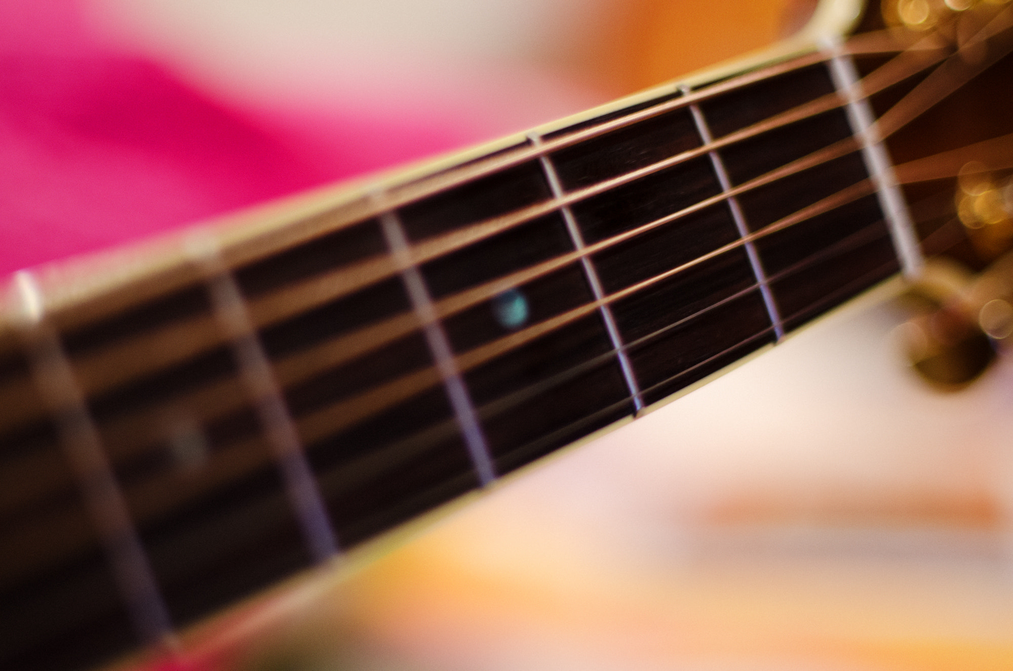 Photograph Guitar Strings by Yousef Abdul Husain on 500px