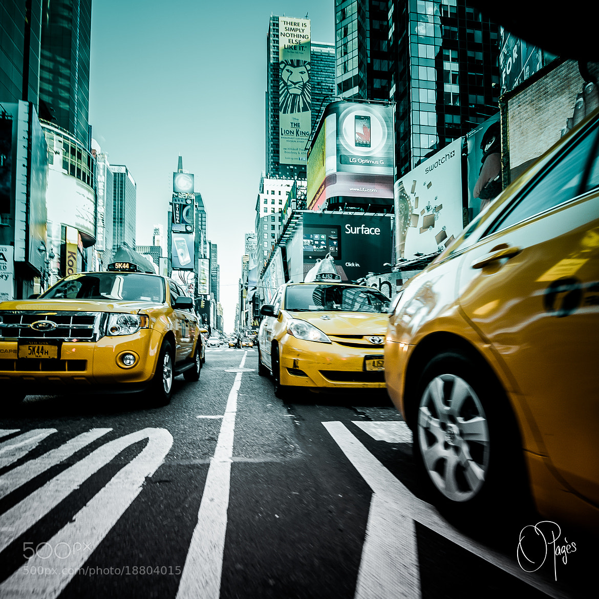 Photograph Times Square by Olivier Pagès on 500px
