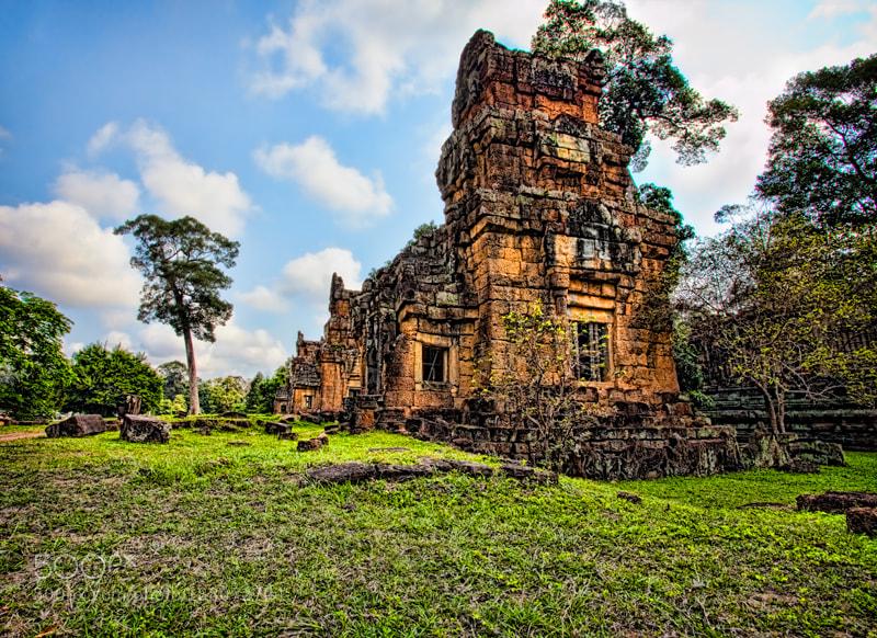 Photograph Prasat Suor Prat (Angkor National Park Cambodia) by Michel Latendresse on 500px