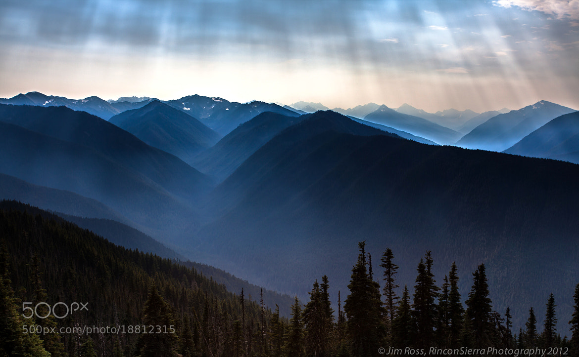 Photograph Layers & Rays Up On Hurricane Ridge!!! (part III) by Jim Ross on 500px