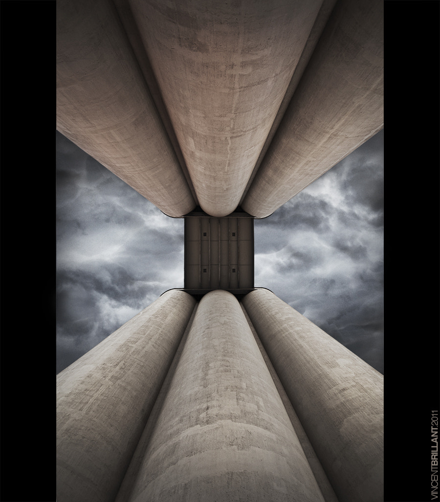 Photograph Silos to heaven by Vincent  Brillant on 500px