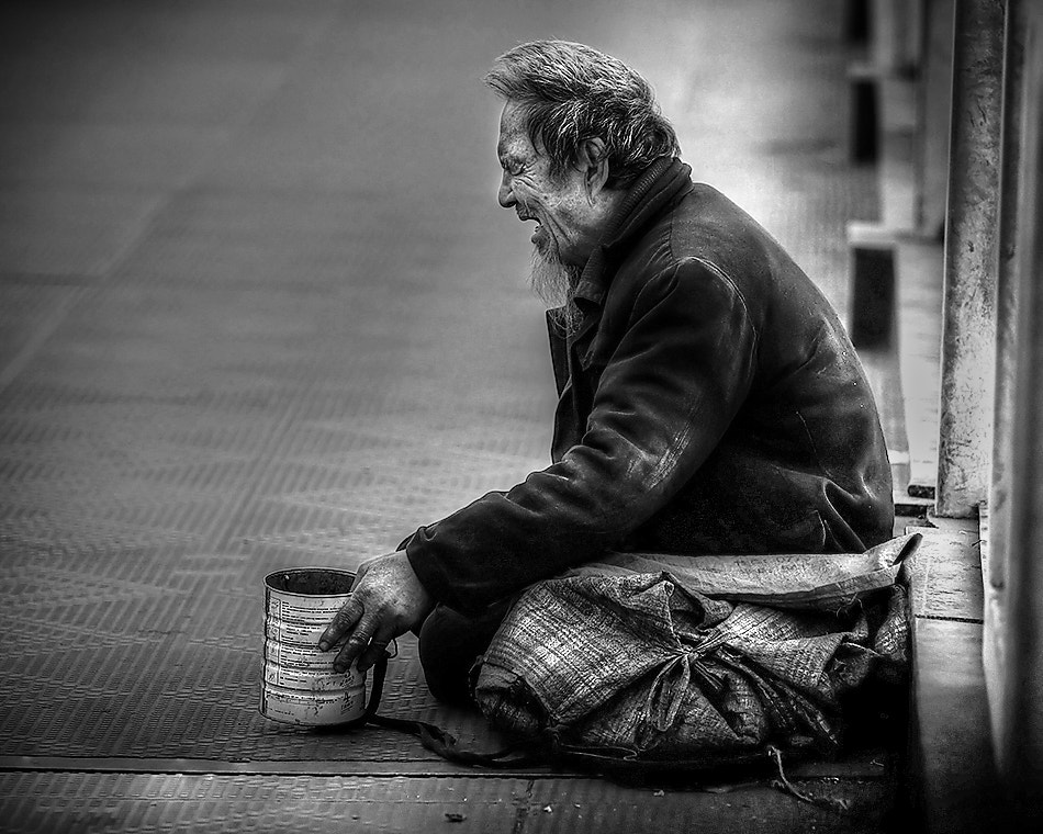 Photograph Troubadour - The Man with Can by Michael Steverson on 500px