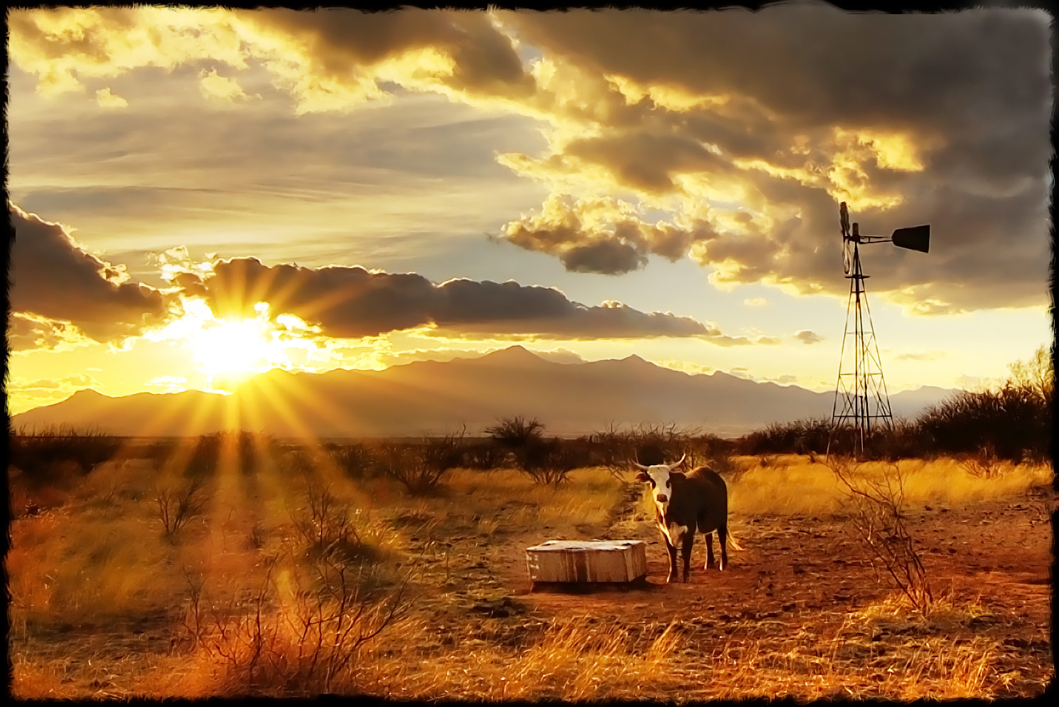 Photograph Cochise County ranch scene III by John  Forrey on 500px