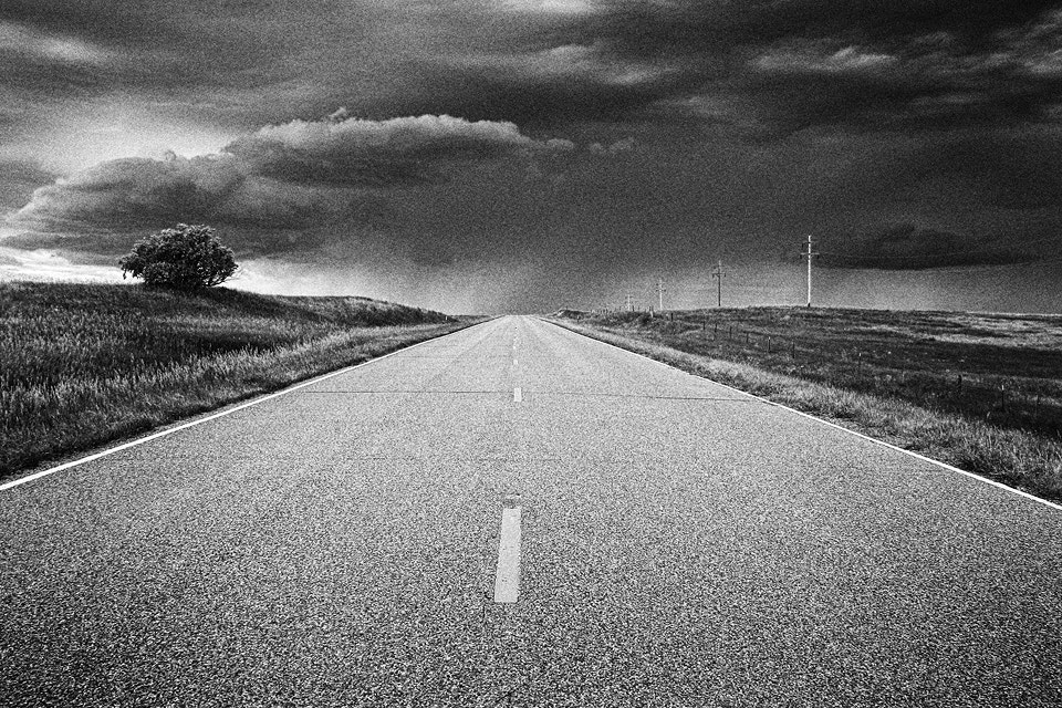 Photograph into the storm by Matt Peterson on 500px
