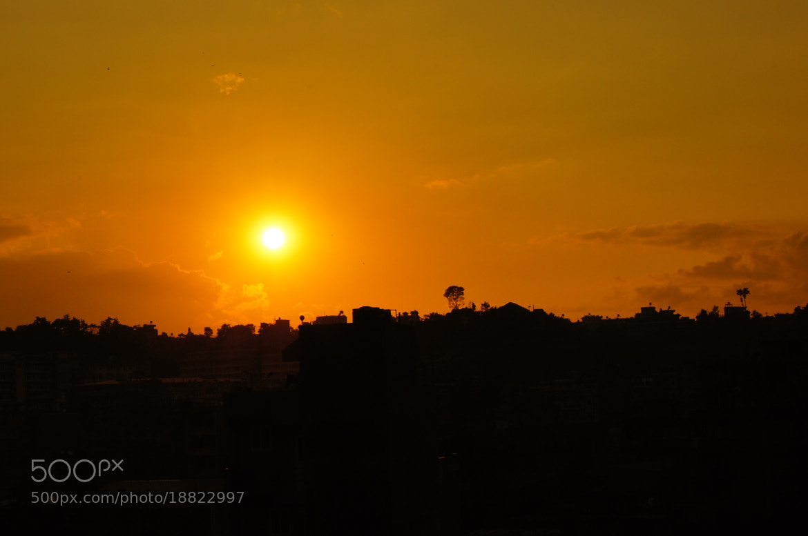 Photograph sun going down... by Afzal Khan on 500px
