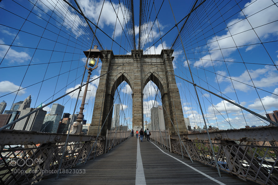 Photograph The Brooklyn Bridge by Michael FRANCHITTI on 500px