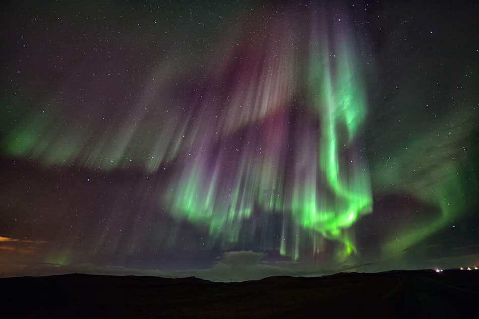 Photograph Aurora borealis in Iceland by Tim Vollmer on 500px