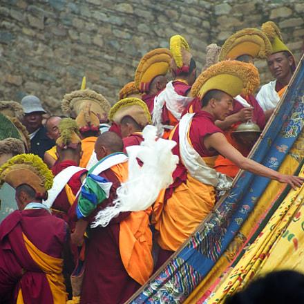 Ganden Monastery, Lhasa, Tibet (film 1999)