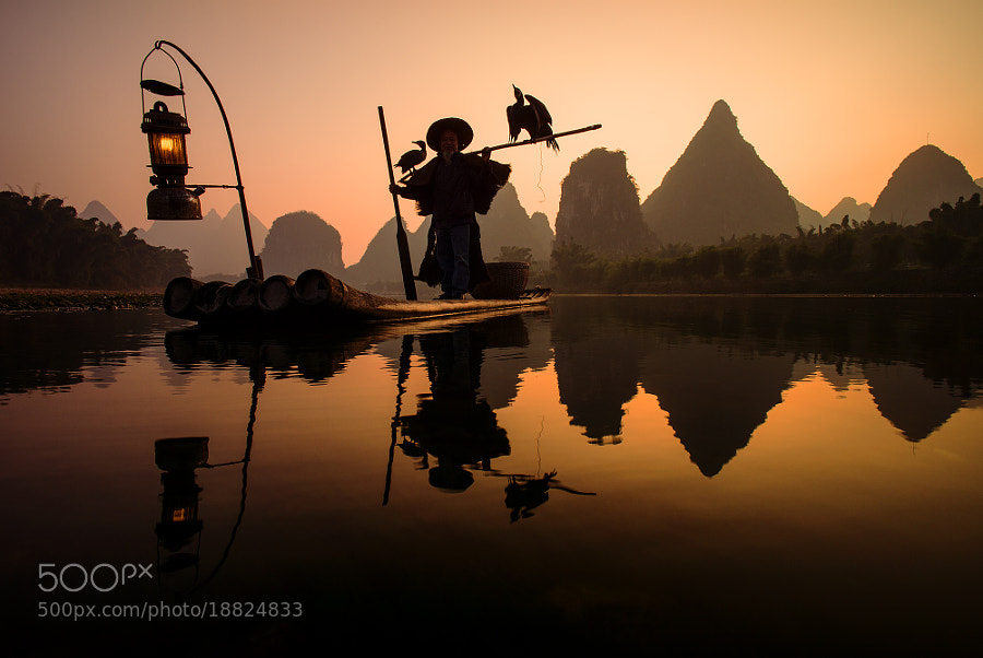 Photograph Cormorant fisherman on Li river by Sergey Kuznetsov on 500px