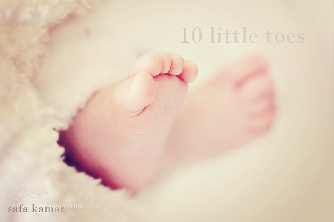 Photograph little toes by safa kamar on 500px