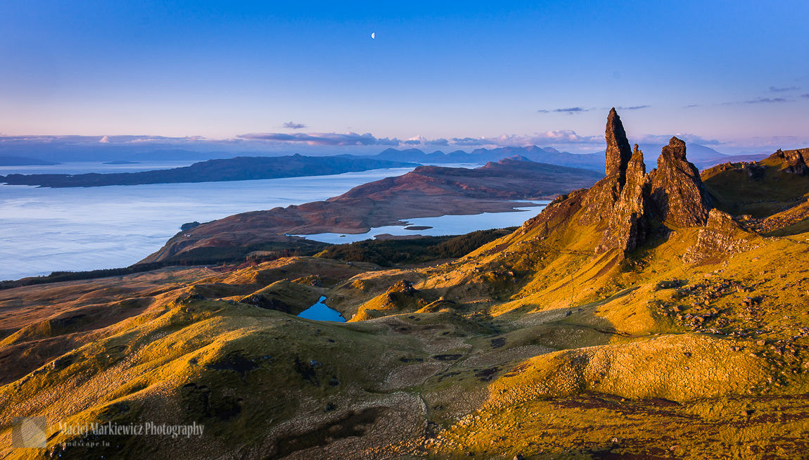 Photograph Sunrise on Old Man of Storr by Maciej Markiewicz on 500px