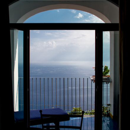 God´s view in Conca dei Marini, Italy