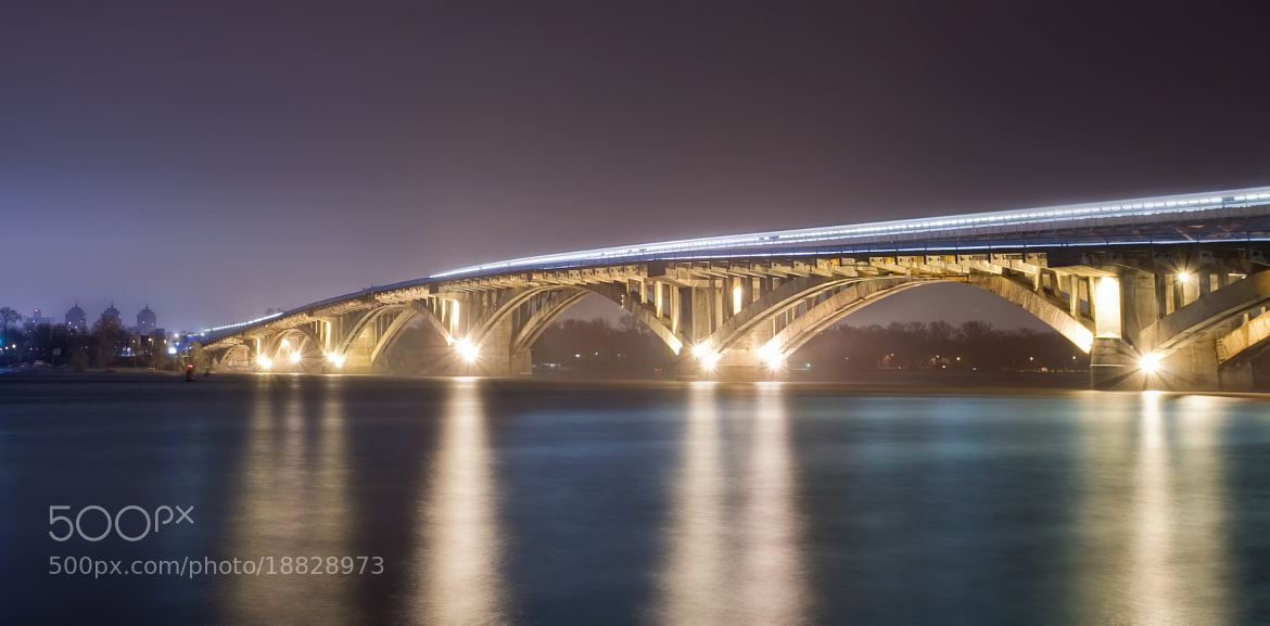 Photograph Kiev, Metro bridge by Егор Котов on 500px