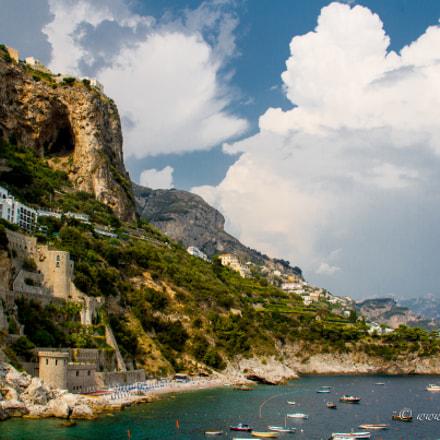 Near Conca dei Marini, Amalfi coast, Italy