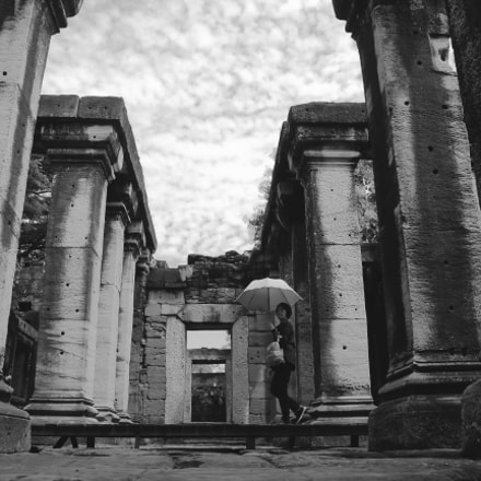 Phimai Temple Lady