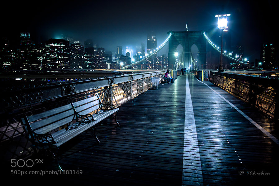 Brooklyn Bridge New York City - NY by Dominique  Palombieri (dompix)) on 500px.com
