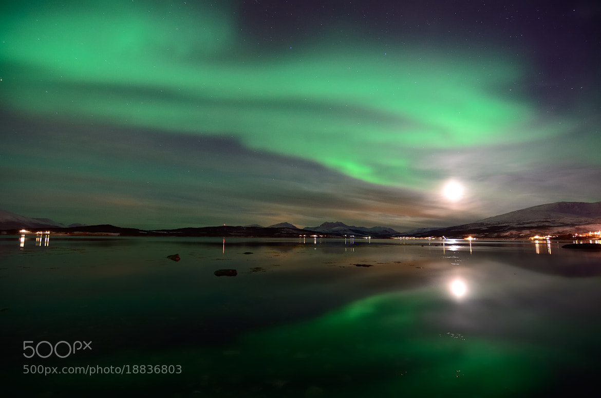 Photograph water and arctic sky by John Hemmingsen on 500px