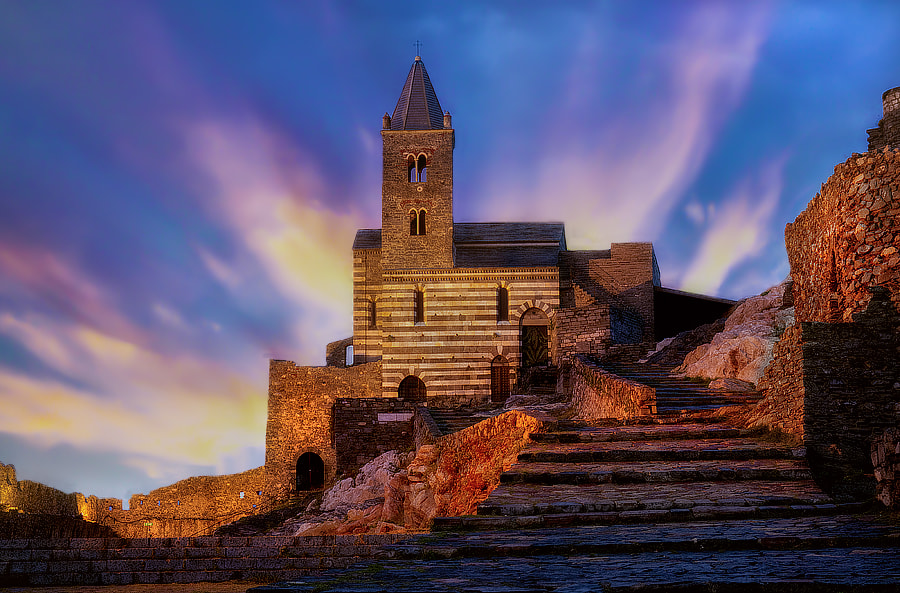 Photograph Dusk Light on S.Pietro (SP) by Roberto Becucci on 500px