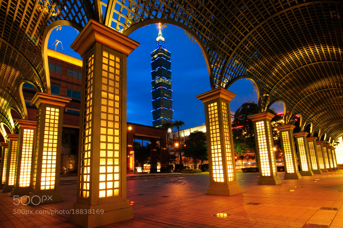 Photograph Taipei 101 by Mingda Jiang on 500px