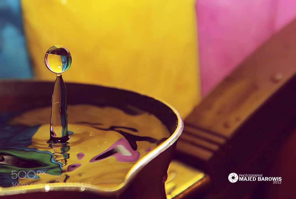 Photograph Drop color by Majed Barowis on 500px