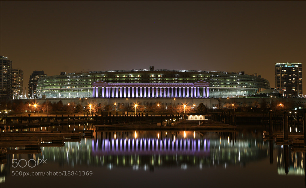 Photograph Soldier Field by Dave Owen on 500px