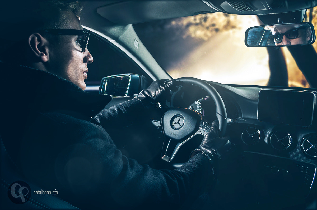 Photograph Andrei in the car by Catalin Pop on 500px