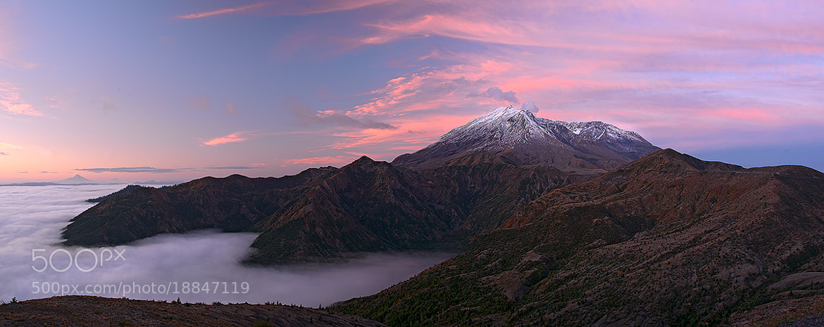 Photograph Mt St Helens Pano by Rick Lundh on 500px