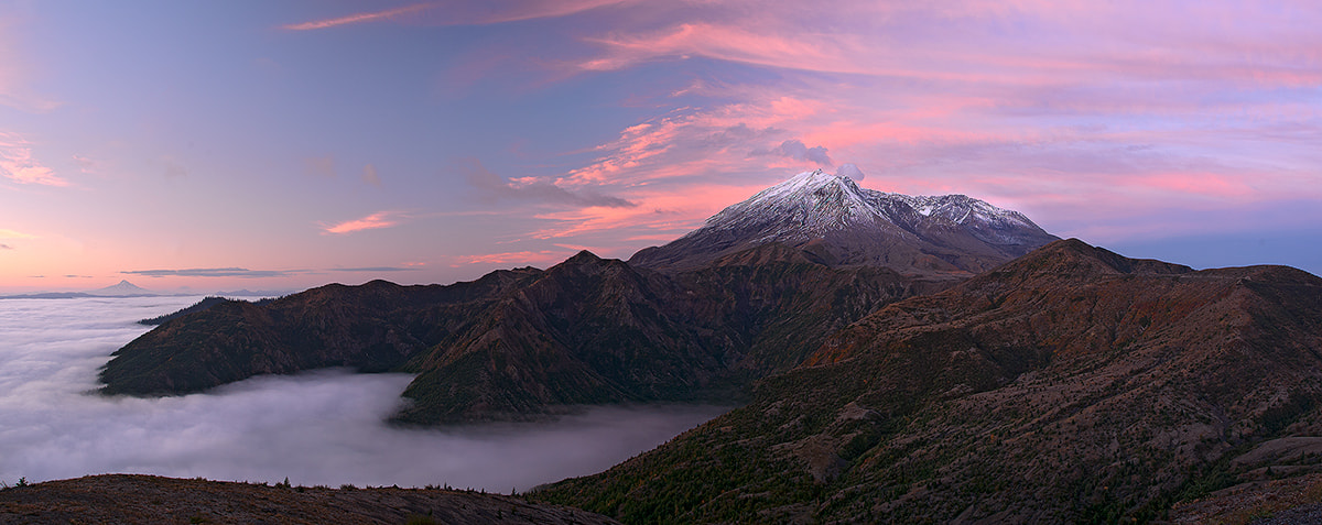 Photograph Mt St Helens Pano by Henrik Anker Bjerregaard  Lundh III on 500px