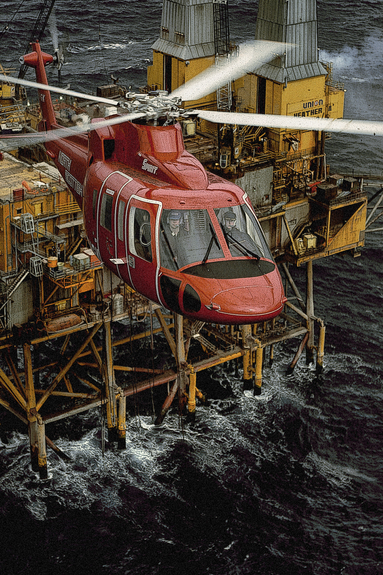 Photograph helicopter over platform by Frederick Hartman on 500px
