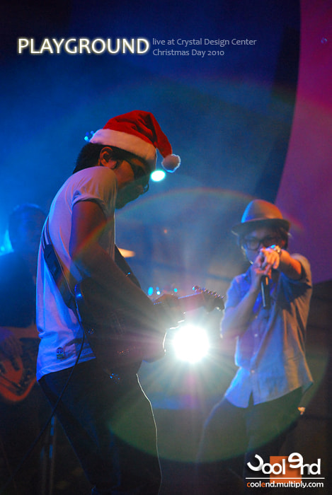 Photograph X'Mas Party Concert with PLAYGROUND by Cool End Photography on 500px