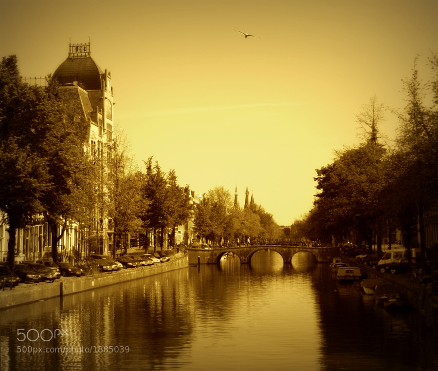 Beautiful enchanting city, particularly this Jordaan district (as far as i'm concerned anyway) . That's from about 2 years ago, but it hasn't lost anything of its charm :)