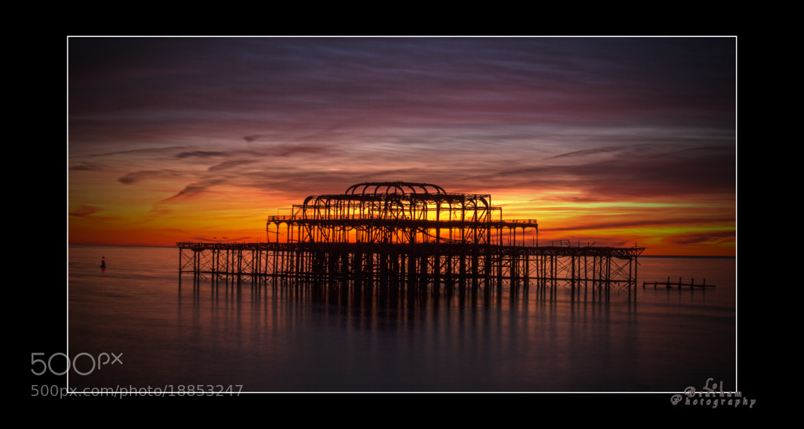 Photograph West Pier Sunset by Lol Beacham on 500px