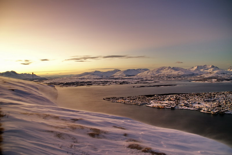 Photograph Tromso from the hill by Paolo Zanotti on 500px