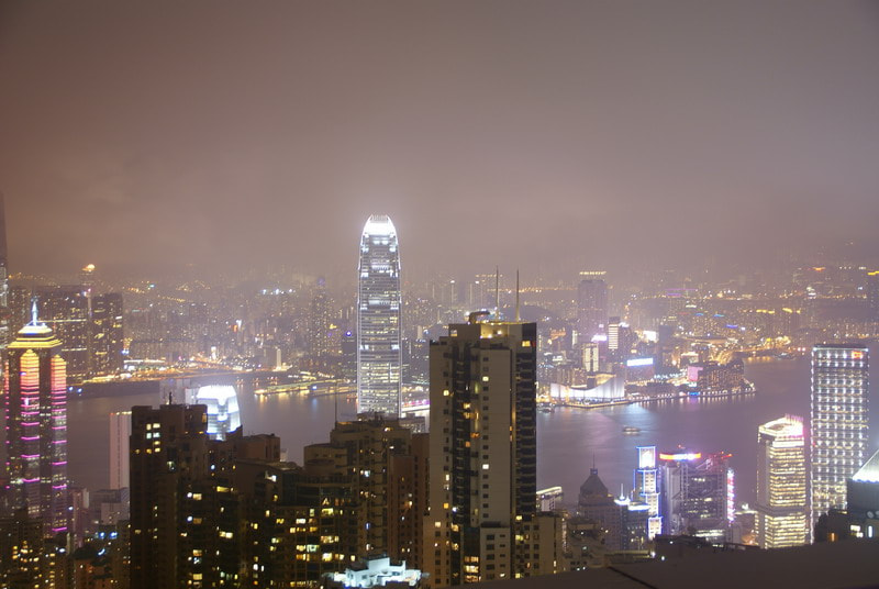 Photograph Hong Kong from the Peak by Paolo Zanotti on 500px