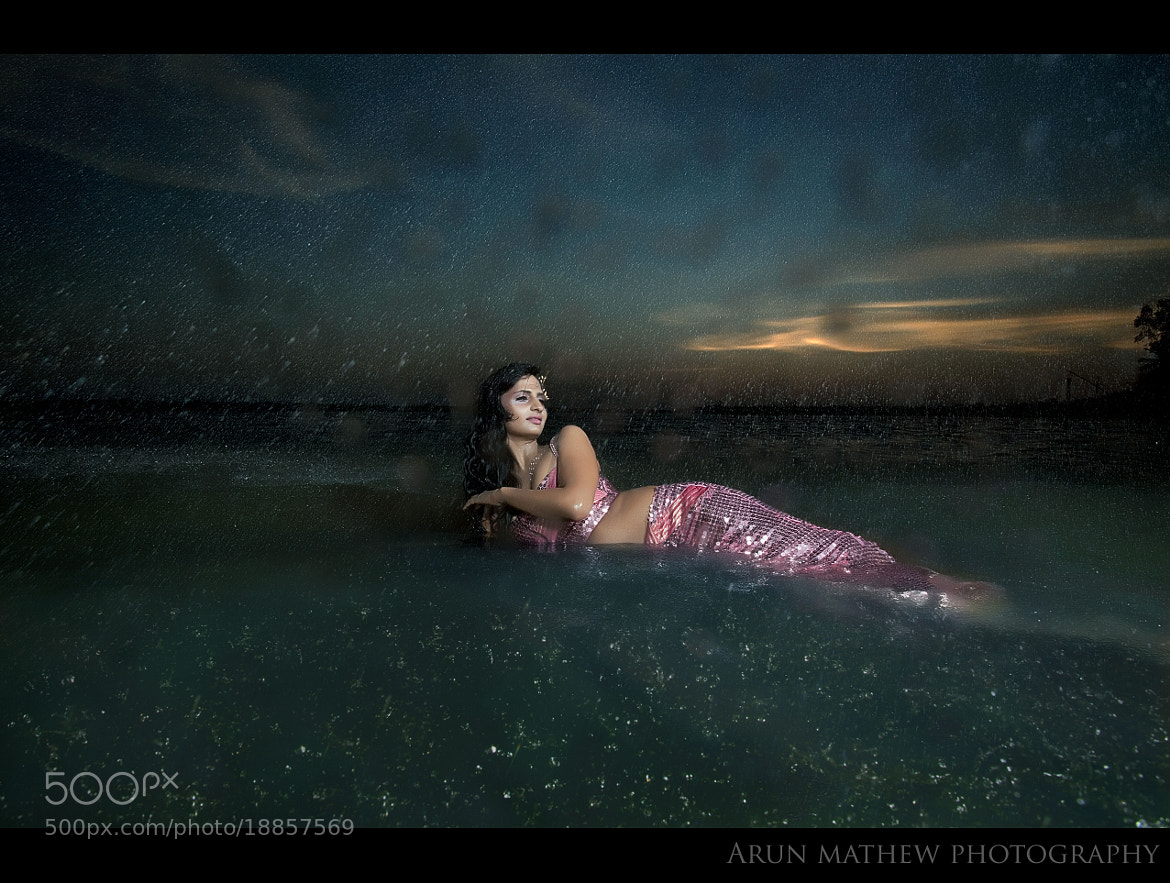 Photograph The beauty from the wave! My Fashion Mermaid! by Arun Mathew on 500px