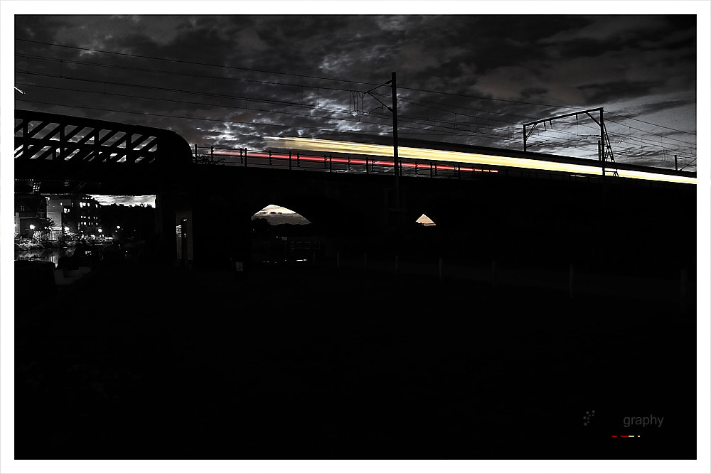 Photograph midnight train by Hegel Jorge on 500px