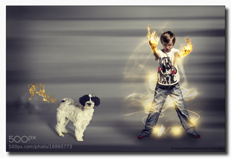Photograph Angry Boy and Flamer. by Ciaran Cummins on 500px