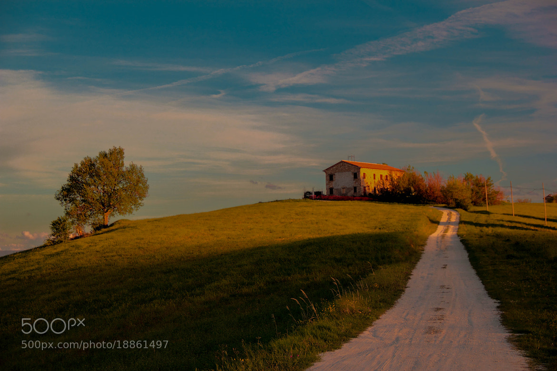 Photograph Italian hill by Christophe Fustinoni on 500px