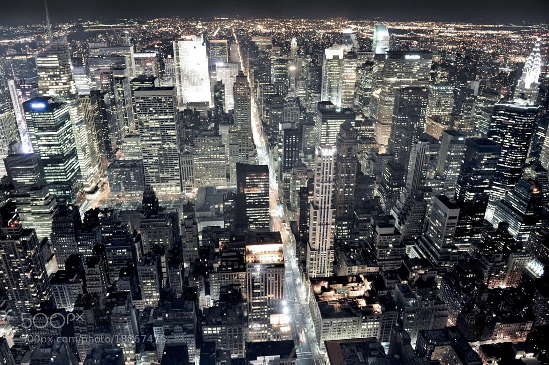 Photograph Glowing Manhattan by Gleb Gomberg on 500px