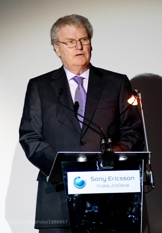 Photograph Sony CEO Sir Howard Stringer by Jöran Maaswinkel on 500px
