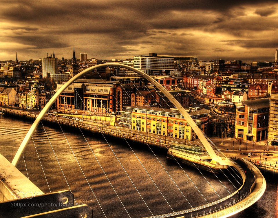 Photograph Tyne Bridges, Newcastle upon Tyne by Garry Atkinson on 500px