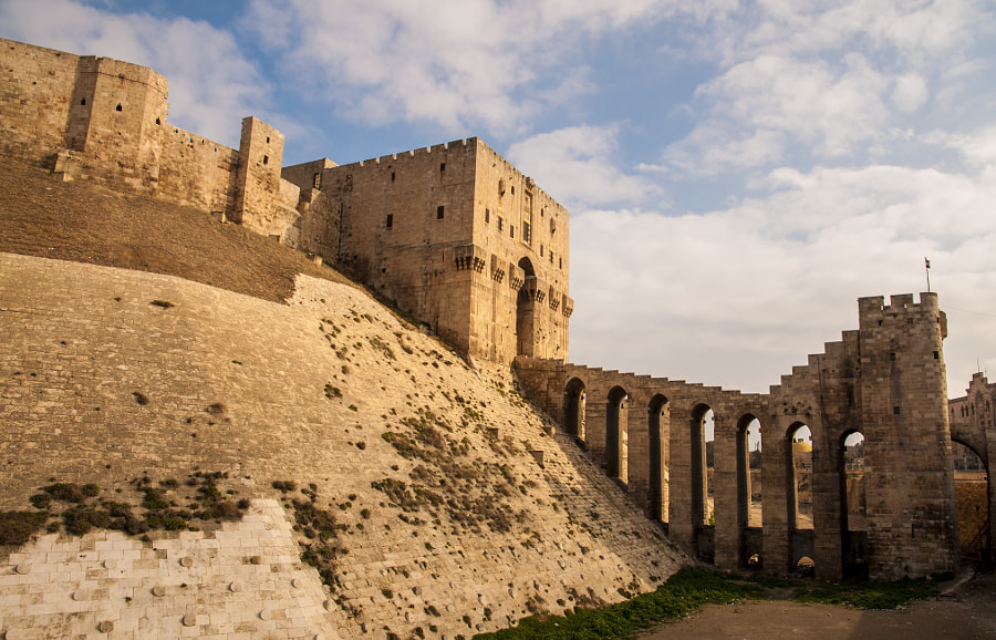 Citadel of Aleppo, December of 2008 by Dalius Juronis on 500px.com