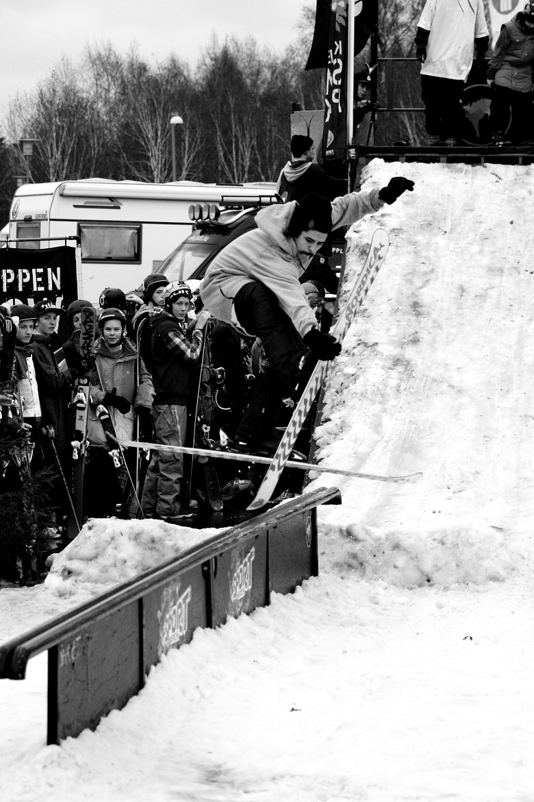 Photograph Stockholm Rail Jam - Make It Happend 2012 by Rasmus Lundin on 500px