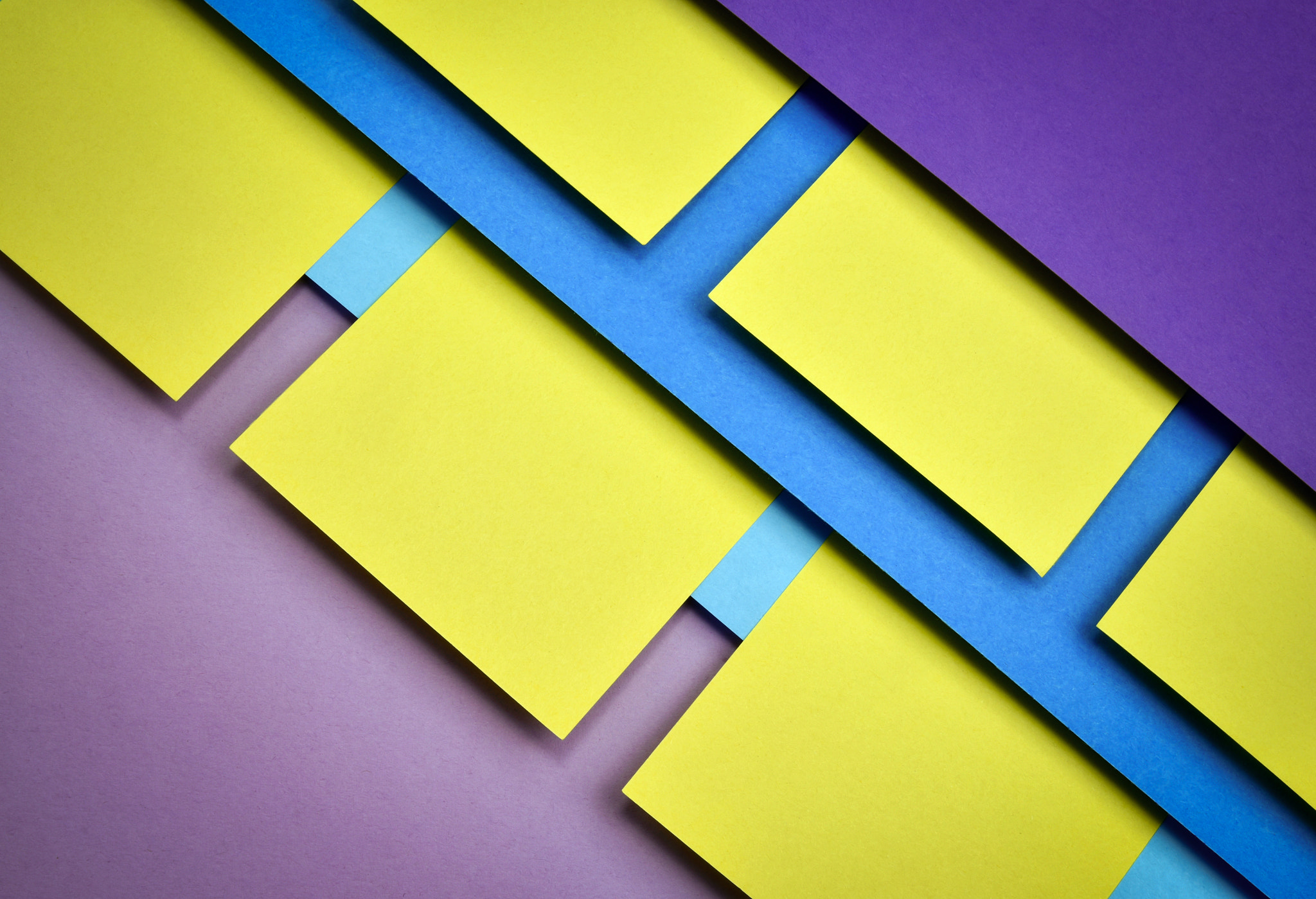 abstract paper geometric composition
