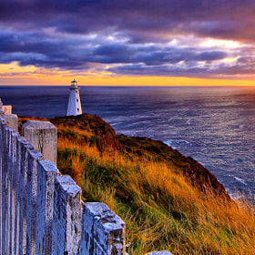 Cape Spear Lighthouse by Geoffrey Whiteway (gwhiteway)) on 500px.com