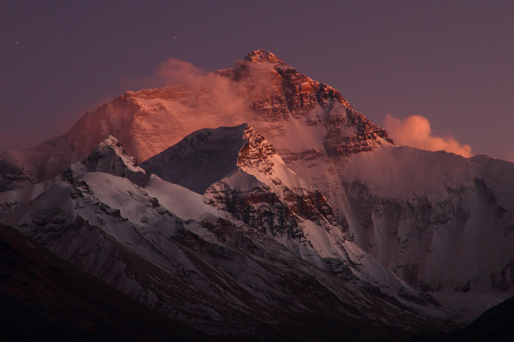 Photograph Mount Everest, Tibet by Charles Lacy on 500px