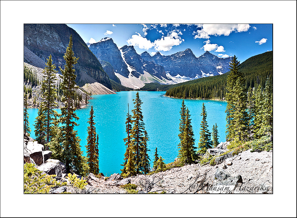 Photograph Moraine Lake by Mausam Hazarika on 500px