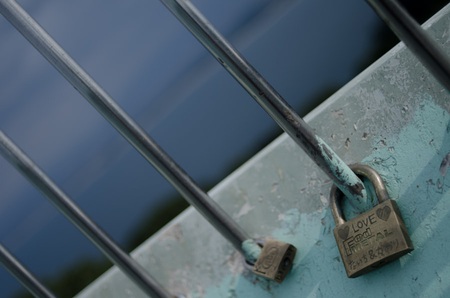 Padlock for praying their matchmaking