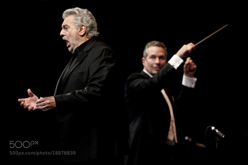 Photograph Placido Domingo by Jag Gundu on 500px